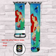 Disney Ariel Finding Dory Custom Apple Watch Band Leather Strap Wrist Band Replacement 38mm 42mm