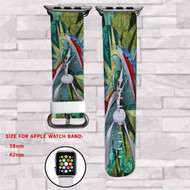 Gallade Pokemon Custom Apple Watch Band Leather Strap Wrist Band Replacement 38mm 42mm