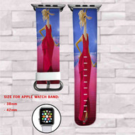Gazelle Disney Zootopia Custom Apple Watch Band Leather Strap Wrist Band Replacement 38mm 42mm