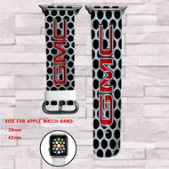 GMC Car Custom Apple Watch Band Leather Strap Wrist Band Replacement 38mm 42mm