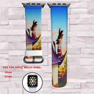 Goku Child Custom Apple Watch Band Leather Strap Wrist Band Replacement 38mm 42mm