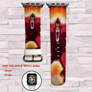 Goku Monkey MOnster Dragon Ball Custom Apple Watch Band Leather Strap Wrist Band Replacement 38mm 42mm