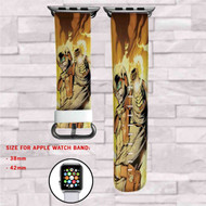 Heat Wave DC Comics Custom Apple Watch Band Leather Strap Wrist Band Replacement 38mm 42mm