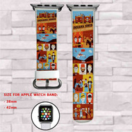Indiana Jones and the Last Crusade Custom Apple Watch Band Leather Strap Wrist Band Replacement 38mm 42mm