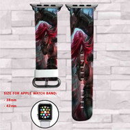 Katarina League of Legends Custom Apple Watch Band Leather Strap Wrist Band Replacement 38mm 42mm