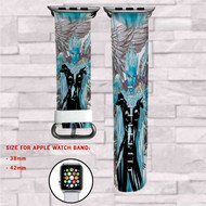 Killer Frost DC Comics Custom Apple Watch Band Leather Strap Wrist Band Replacement 38mm 42mm