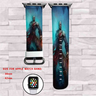 Kratos God of War Custom Apple Watch Band Leather Strap Wrist Band Replacement 38mm 42mm