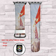Krypto DC Comics Custom Apple Watch Band Leather Strap Wrist Band Replacement 38mm 42mm