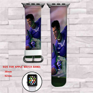 Action Man TV Series Custom Apple Watch Band Leather Strap Wrist Band Replacement 38mm 42mm