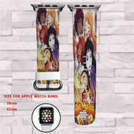 Air Master Sexy Girls Custom Apple Watch Band Leather Strap Wrist Band Replacement 38mm 42mm