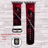 AKame ga Kill Custom Apple Watch Band Leather Strap Wrist Band Replacement 38mm 42mm