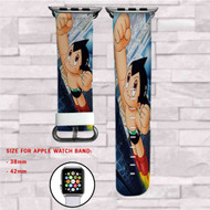 Astro Boy Custom Apple Watch Band Leather Strap Wrist Band Replacement 38mm 42mm