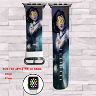 Aurora X Men MArvel Custom Apple Watch Band Leather Strap Wrist Band Replacement 38mm 42mm