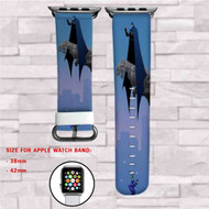 Batman and Joker Custom Apple Watch Band Leather Strap Wrist Band Replacement 38mm 42mm