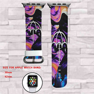 Bring Me The Horizon Doomed Custom Apple Watch Band Leather Strap Wrist Band Replacement 38mm 42mm