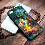 Snow White Fairy Forest Trees House disney on your case iphone 4 4s 5 5s 5c 6 6plus 7 case / cases