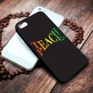 Teach Peace Iphone 4 4s 5 5s 5c 6 6plus 7 case / cases