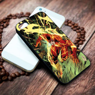 The Flash  on your case iphone 4 4s 5 5s 5c 6 6plus 7 case / cases