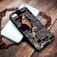 Ultraviolence Lyrics lana del rey on your case iphone 4 4s 5 5s 5c 6 6plus 7 case / cases