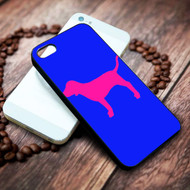 Victoria Secret Pink Dog on your case iphone 4 4s 5 5s 5c 6 6plus 7 case / cases