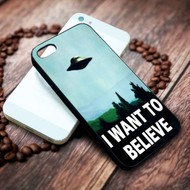 x files i want to believe on your case iphone 4 4s 5 5s 5c 6 6plus 7 case / cases