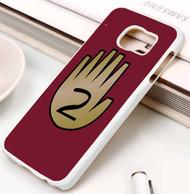3 Gravity Falls hand book 2 Samsung Galaxy S3 S4 S5 S6 S7 case / cases
