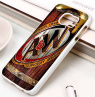 A&W Root Beer Samsung Galaxy S3 S4 S5 S6 S7 case / cases