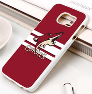 Arizona Coyotes 4 Samsung Galaxy S3 S4 S5 S6 S7 case / cases