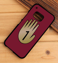 3 Gravity Falls hand book 1 HTC One X M7 M8 M9 Case