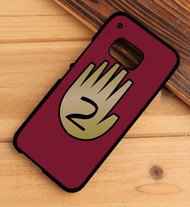 3 Gravity Falls hand book 2 HTC One X M7 M8 M9 Case