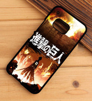 Attack on Titan season 1 HTC One X M7 M8 M9 Case