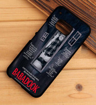 babadook poster HTC One X M7 M8 M9 Case