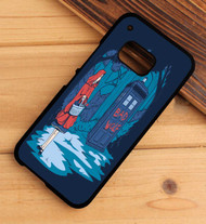Bad Wolf tardis dr who HTC One X M7 M8 M9 Case