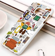 Collage central park Samsung Galaxy S3 S4 S5 S6 S7 case / cases
