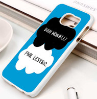dan and phil tfios Samsung Galaxy S3 S4 S5 S6 S7 case / cases