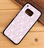 Bunny Pattern HTC One X M7 M8 M9 Case