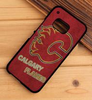 Calgary Flames 3 HTC One X M7 M8 M9 Case