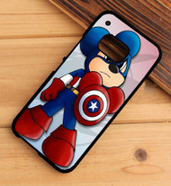 Captain america  Mickey HTC One X M7 M8 M9 Case