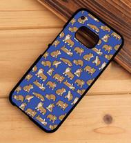 Corgi pattern HTC One X M7 M8 M9 Case