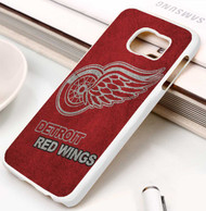 Detroit Red Wings 3 Samsung Galaxy S3 S4 S5 S6 S7 case / cases