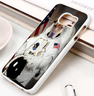 Dogenaut dog astronout Samsung Galaxy S3 S4 S5 S6 S7 case / cases