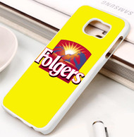 Folgers coffee Samsung Galaxy S3 S4 S5 S6 S7 case / cases