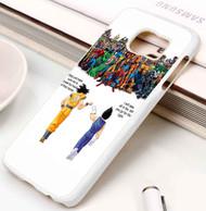 goku vs marvel Samsung Galaxy S3 S4 S5 S6 S7 case / cases