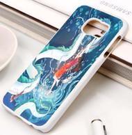 haku the spirit of the kohaku river from spirited away Samsung Galaxy S3 S4 S5 S6 S7 case / cases