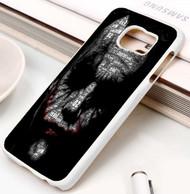 joker face typogravy batman Samsung Galaxy S3 S4 S5 S6 S7 case / cases