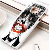 joker With Batman Logo In His Eyes Samsung Galaxy S3 S4 S5 S6 S7 case / cases