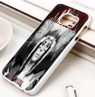 lana del rey native american like america Samsung Galaxy S3 S4 S5 S6 S7 case / cases