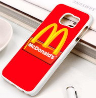 mcdonald's Samsung Galaxy S3 S4 S5 S6 S7 case / cases