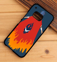 gurren lagann kamina cape HTC One X M7 M8 M9 Case