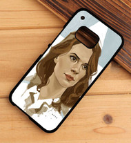Hayley Atwell agen carter HTC One X M7 M8 M9 Case